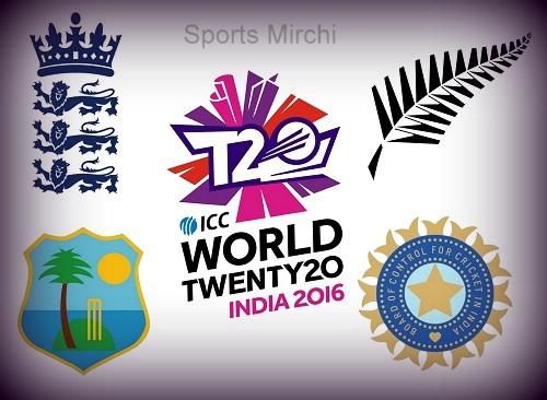 ICC World T20 2016 Semi-Final Line-ups.