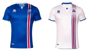 Iceland jersey for European championship 2016.