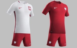 Poland outfit for 2016 UEFA Euro Cup.