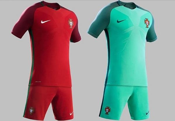 Portugal dress for UEFA Euro 2016.