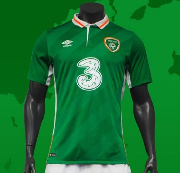 Republic of Ireland jersey for Euro Cup 2016.