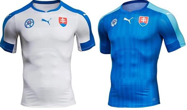 Slovakia kit for European cup 2016.