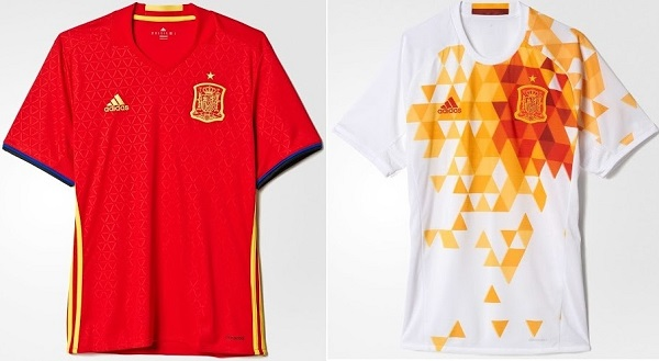 Spain football team t-shirt 2016 Euro cup.