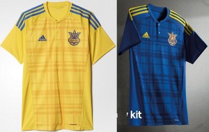 Ukraine jersey for Euro Cup 2016.