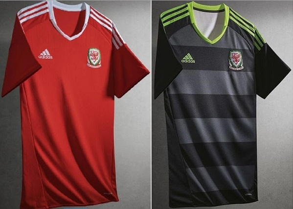 Wales apparel for 2016 Euro cup.