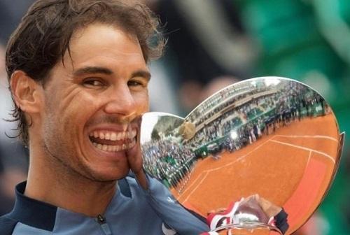 Rafael Nadal won 2016 Monte Carlo Masters.