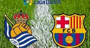 La Liga 2016: Real Sociedad vs Barcelona Live Streaming