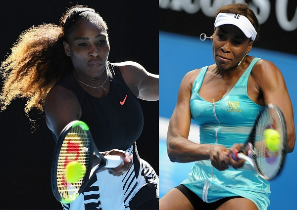 Serena vs Venus Williams Live Streaming