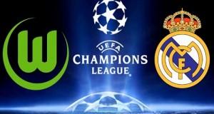 Real Madrid vs Wolfsburg Live Streaming QuarterFinal leg-2