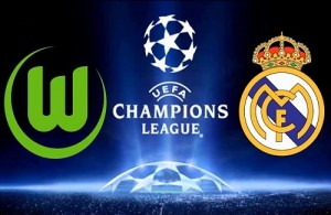 Wolfsburg vs Real Madrid Live Streaming.