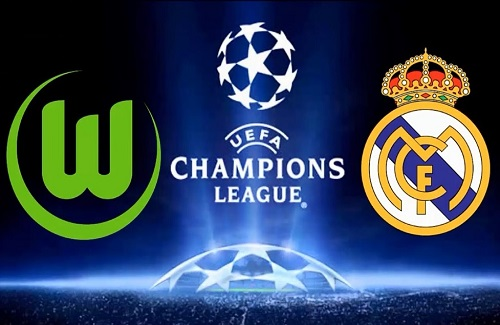 real madrid vs wolfsburg live