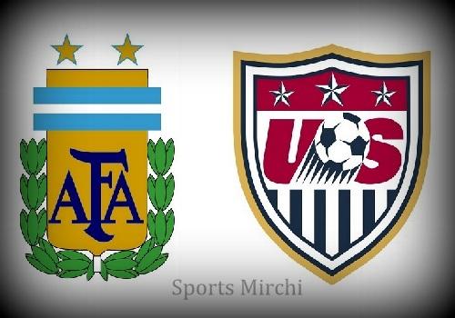 Argentina vs USA Head to Head.