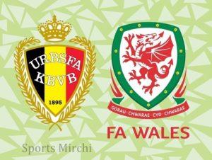 Belgium vs Wales Head to Head.