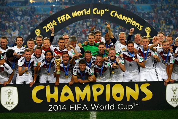 Germany beat Argentina in final to win FIFA world cup 2014.