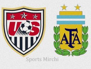 USA vs Argentina Live Telecast.