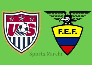 USA vs Ecuador Head to Head.
