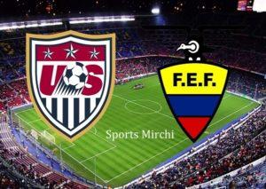 USA vs Ecuador Live Streaming.