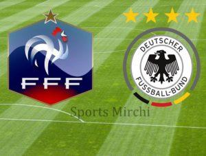 France vs Germany Head to Head.