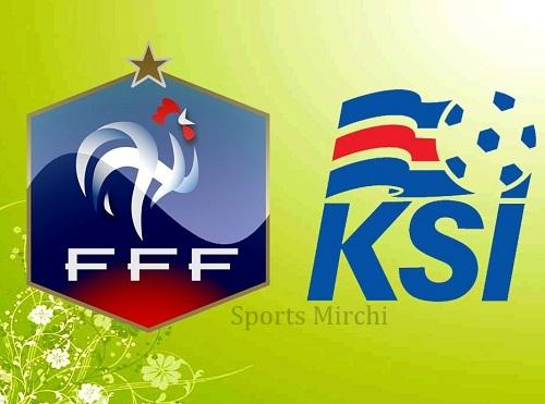 France vs Iceland Head to Head.