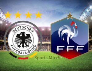 Germany vs France Live Streaming