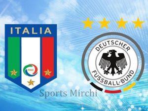 Italy vs Germany Live Streaming.