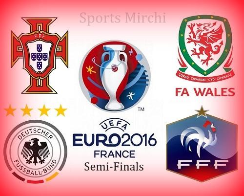 UEFA Euro 2016 Semi-Final Teams, Venue, Schedule, Lineups.