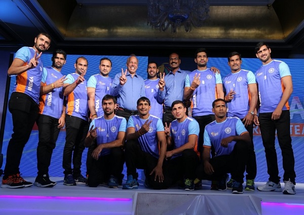 Indian squad for 2016 Kabaddi World Cup in Ahmedabad