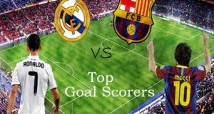 Barcelona vs Real Madrid: Top 10 Goal Scorers