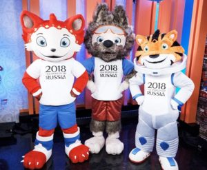 cat, wolf, tiger candidates for world cup 2018 mascot
