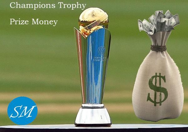 ICC Champions Trophy Prize Money Photo