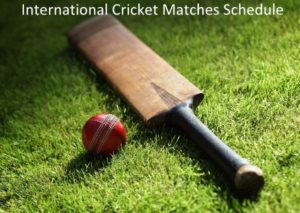 international cricket schedule