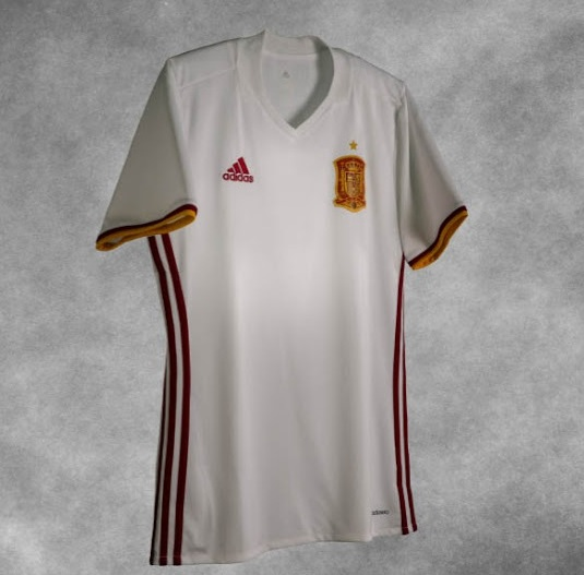 new concept cffbe 812f3 Spain's 2018 FIFA World Cup Qualifier Away Kit Released ...