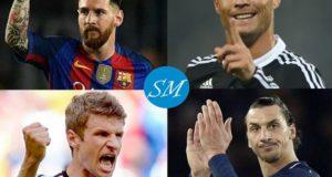 Top 20 Goals Scorers in UEFA Champions League