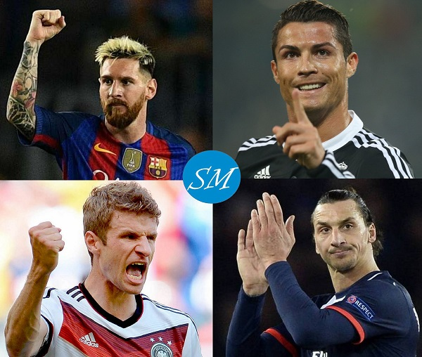 Top Goals Scorers in UEFA Champions League