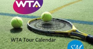 WTA Tour Calendar 2018-2019