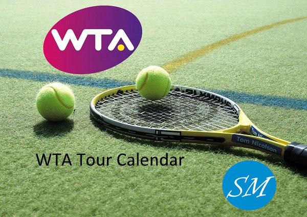 WTA Tour Calendar 2017