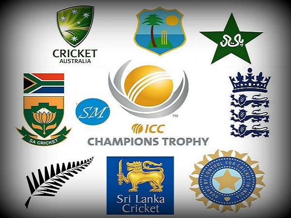 ICC Champions Trophy Teams.