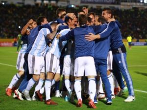 Argentina qualify for FIFA world cup 2018
