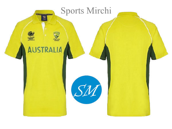 Australia cricket team jersey for champions trophy 2017