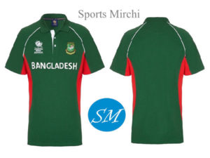 Bangladesh cricket team jersey for 2017 champions trophy.