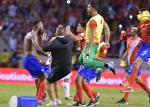 Costa Rica qualify for FIFA world cup 2018