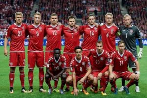 Denmark qualify for 2018 world cup