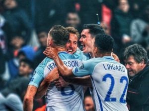 England qualify for 2018 FIFA world cup