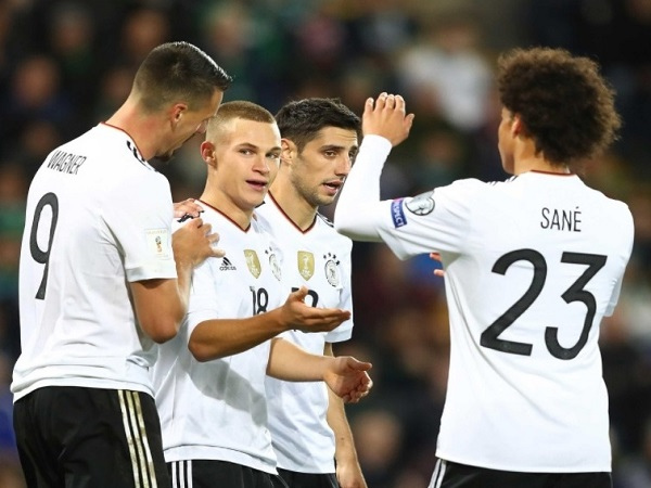 Germany reaches to world cup 2018 Russia