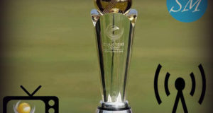 ICC Champions Trophy Broadcasters, TV Channels List