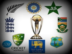 ICC Cricket World Cup Teams