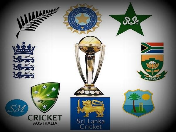 ICC Cricket World Cup Teams
