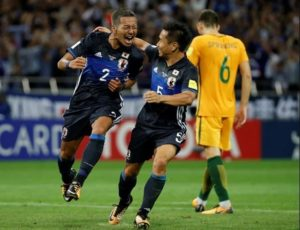 Japan qualify for FIFA 2018 World Cup