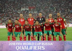 Morocco qualified for 2018 FIFA world cup