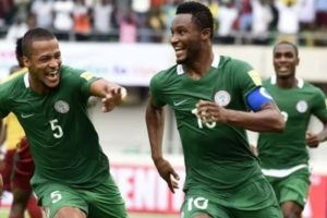 Nigeria qualify for 2018 football world cup